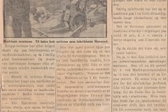 Omtale i avisen