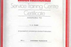 Servicekurs fra 1977